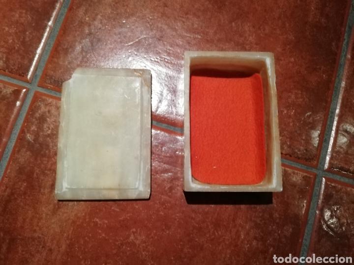 CAJA ALABASTRO (Coleccionismo - Cajas y Cajitas Metálicas)