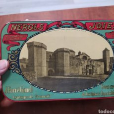 Cajas y cajitas metálicas: ESPLUGA DE FRANCOLÍ, GALLETAS JOIES. Lote 203063558