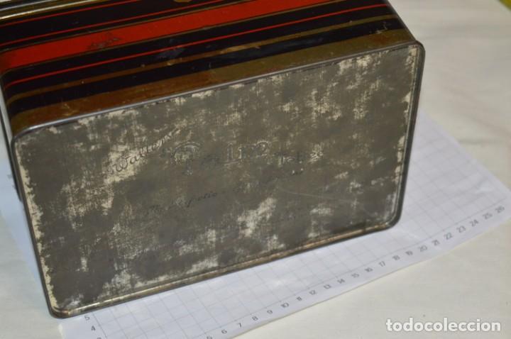 Cajas y cajitas metálicas: Lote 03 / Vintage 3 antiguas cajas de hojalata - Variadas y diferentes tamaños ¡Preciosas, MIRA! - Foto 6 - 203180776