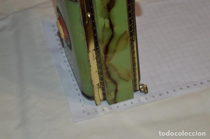 Cajas y cajitas metálicas: Lote 03 / Vintage 3 antiguas cajas de hojalata - Variadas y diferentes tamaños ¡Preciosas, MIRA! - Foto 10 - 203180776