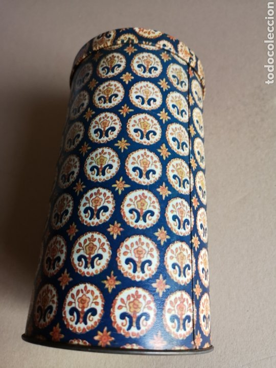 Cajas y cajitas metálicas: Antiguo Bote o Caja de Lata Redonda de la Marca Rifacli - Foto 2 - 203182120