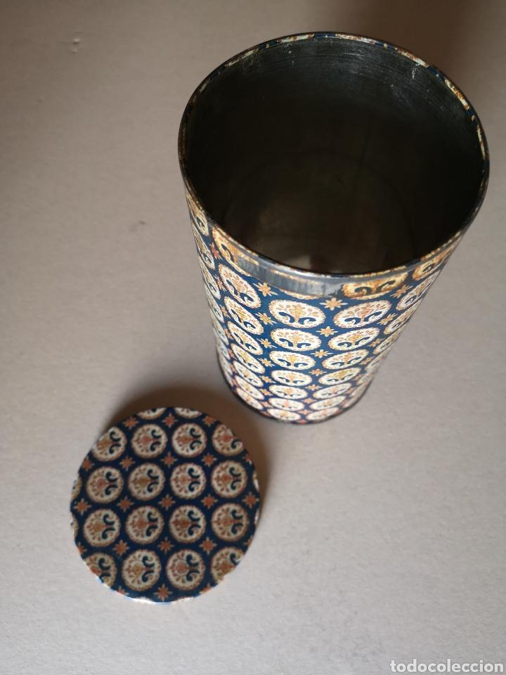 Cajas y cajitas metálicas: Antiguo Bote o Caja de Lata Redonda de la Marca Rifacli - Foto 4 - 203182120