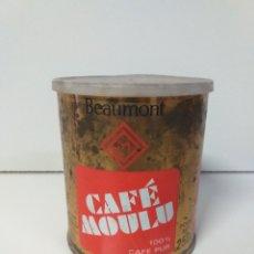 Cajas y cajitas metálicas: CAJA BEAUMONT. CAFÉ MOULU. CAFE PUR 100%. 250G. Lote 204082518