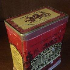 Cajas y cajitas metálicas: CAJA METÁLICA VINTAGE, HORNIMAN'S TEA, BOUDOIR TEA. LONDRES - PRIMERA MITAD DEL SIGLO XX. Lote 204434928