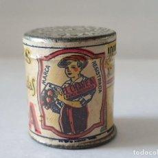 Cajas y cajitas metálicas: BOTE DE CANELA - EL CHAVEA - JOAQUIN SAAVEDRA - ALGEZARES - MURCIA. Lote 205327021