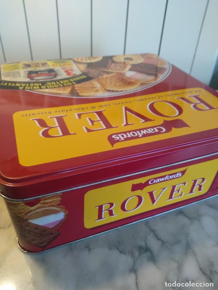 Cajas y cajitas metálicas: Antigua caja metálica Crawsford´s Rover - Foto 2 - 205602482