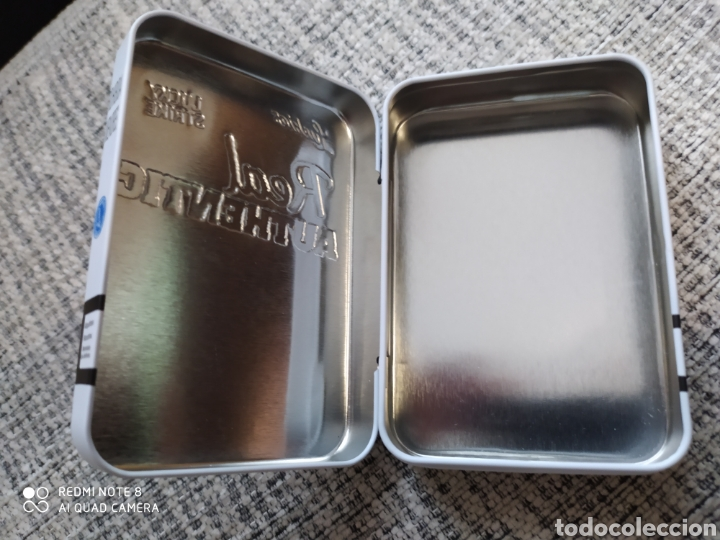 Cajas y cajitas metálicas: Caja metálica de Lucky Strike Real Authentic. - Foto 7 - 205712595