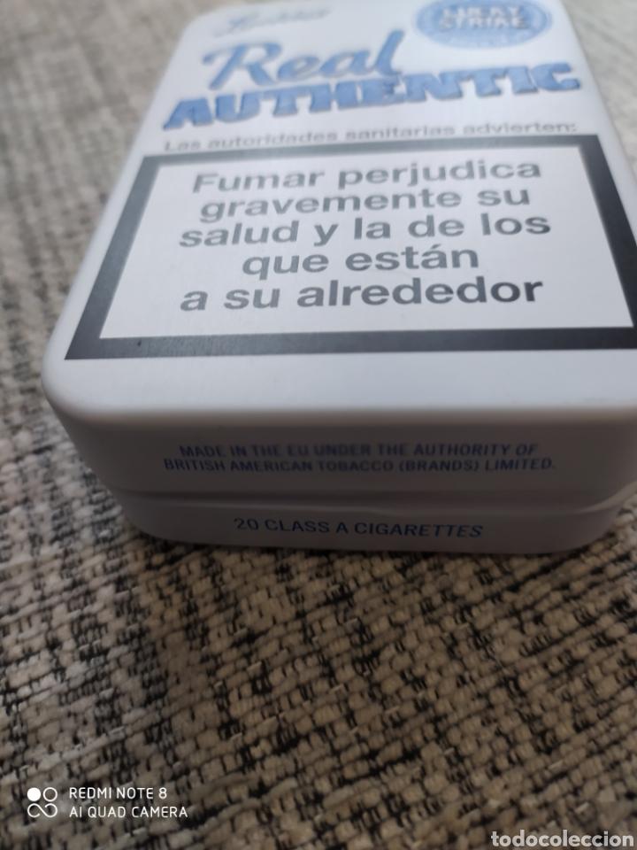 CAJA METÁLICA DE LUCKY STRIKE REAL AUTHENTIC. (Coleccionismo - Cajas y Cajitas Metálicas)