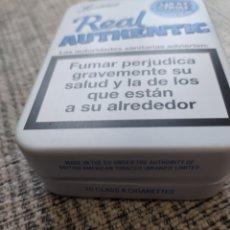 Cajas y cajitas metálicas: CAJA METÁLICA DE LUCKY STRIKE REAL AUTHENTIC.. Lote 205712595
