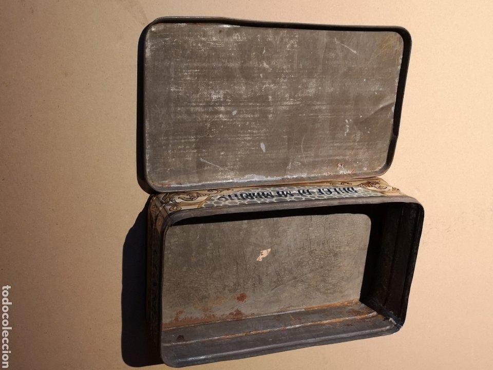 Cajas y cajitas metálicas: Bonita y Antigua Caja de Hojalata de Membrillo F. Chacón Yerón - Foto 5 - 205735623