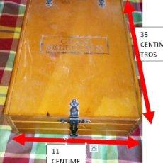 Cajas y cajitas metálicas: BONITA CAJA DE MADERA.. Lote 205839817