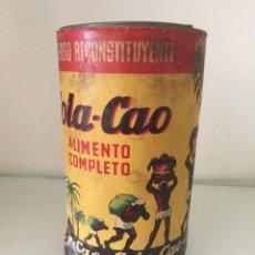 Cajas y cajitas metálicas: BOTE COLA CAO. ALTURA 16 CM.. Lote 206894856