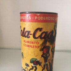 Cajas y cajitas metálicas: BOTE COLA CAO. ALTURA 16 CM.. Lote 206894955