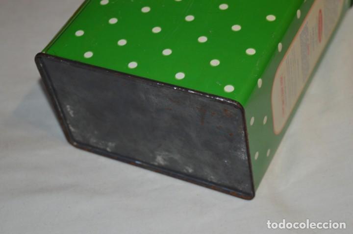 Cajas y cajitas metálicas: COLA-CAO / COLA CAO / Lote 2 cajas antiguas, formatos y épocas diferentes / SEMOLA y LABORES ¡Mira! - Foto 5 - 206926651