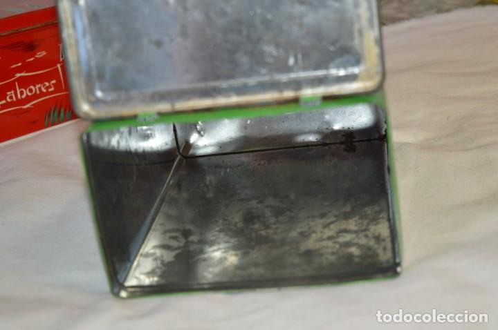 Cajas y cajitas metálicas: COLA-CAO / COLA CAO / Lote 2 cajas antiguas, formatos y épocas diferentes / SEMOLA y LABORES ¡Mira! - Foto 6 - 206926651