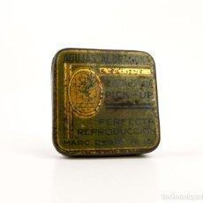 Cajas y cajitas metálicas: AGUJAS AL DRAGON- CAJA DE AGUJAS DE GRAMÓFONO- PICK UP- METAL LITOGRAFIADO. Lote 206944625
