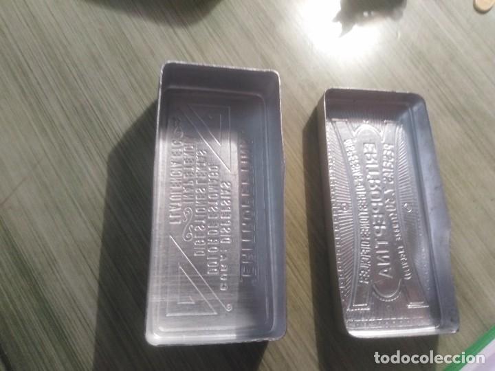 Cajas y cajitas metálicas: CAJA DE ALUMINIO CON PUBLICIDAD ENTROPEPTINA - Foto 4 - 207140075