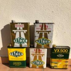 Cajas y cajitas metálicas: LOTE LATA ACEITE YACCO DE 2 LITROS. Lote 207354861