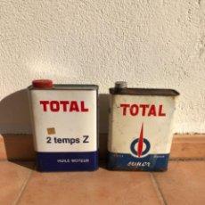 Cajas y cajitas metálicas: LOTE LATA ACEITE TOTAL DE 2 LITROS.. Lote 207354996