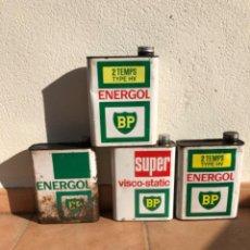 Cajas y cajitas metálicas: LOTE LATA ACEITE BP ENERGOL DE 2 LITROS.. Lote 207355021