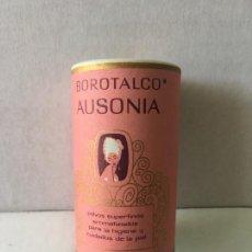 Cajas y cajitas metálicas: ANTIGUO BOTE DE POLVOS DE TALCO AUSONIA TAMAÑO MINI. Lote 207363496