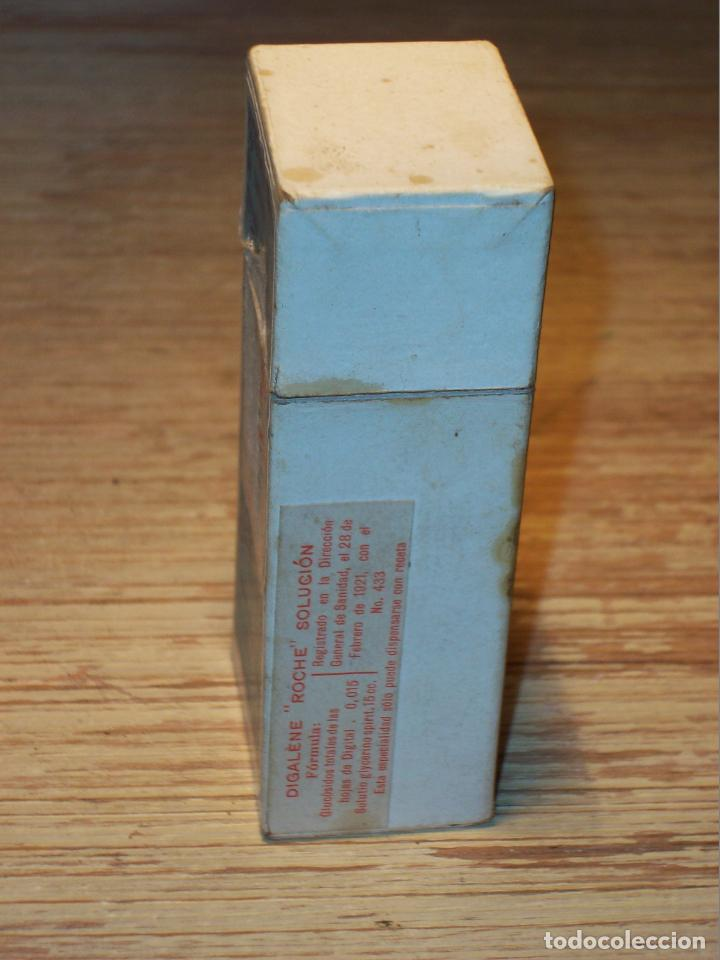 Cajas y cajitas metálicas: ANTIGUA CAJA MEDICAMENTO DE LABORATORIOS F.HOFFMANN-LA ROCHE Y CIA . BASILEA -PARIS . DIGALÈNE . - Foto 11 - 208079957
