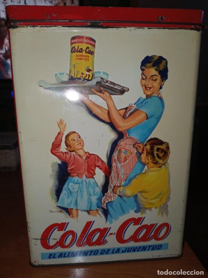 Cajas y cajitas metálicas: Cajas hojalata cola cao - Foto 2 - 208597800