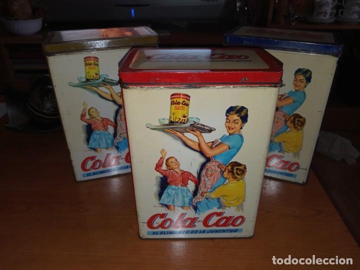 Cajas y cajitas metálicas: Cajas hojalata cola cao - Foto 5 - 208597800