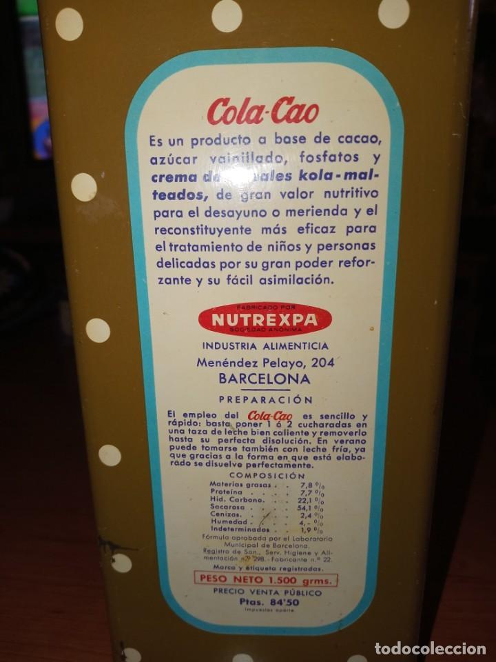 Cajas y cajitas metálicas: Cajas hojalata cola cao - Foto 7 - 208597800