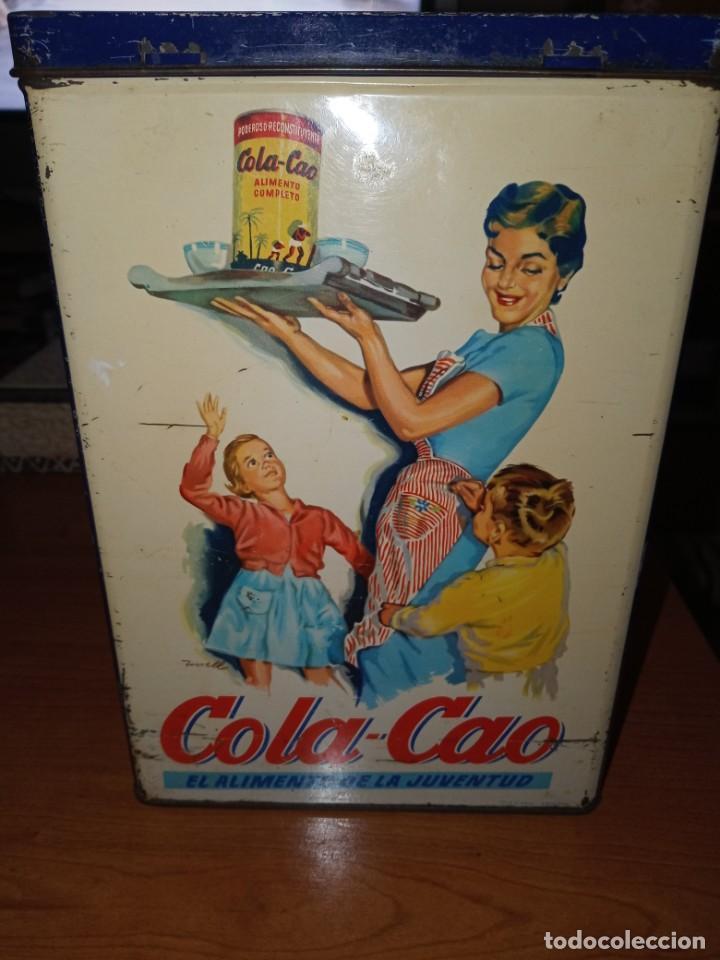 Cajas y cajitas metálicas: Cajas hojalata cola cao - Foto 19 - 208597800