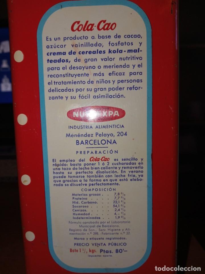 Cajas y cajitas metálicas: Cajas hojalata cola cao - Foto 20 - 208597800