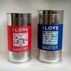 Cajas y cajitas metálicas: LATAS JEAN PAUL GAULTIER. Lote 209121857