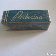 Cajas y cajitas metálicas: PERBORINA DENTÍFRICO BLANQUEADOR PERBORATO SÓDICO FARMACIA AÑOS 60 - PRECINTADO. Lote 209178350