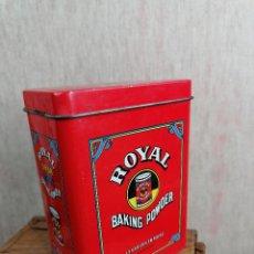 Cajas y cajitas metálicas: CAJA CAJITA ROYAL LEVADURA. Lote 209804442