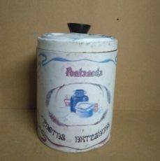 Cajas y cajitas metálicas: BOTE DE GALLETAS FONTANEDA.. Lote 211519859