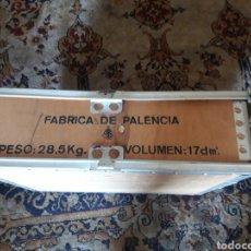 Cajas y cajitas metálicas: CAJÓN DE MUNICIÓN, FÁBRICA DE PALENCIA. Lote 211660376