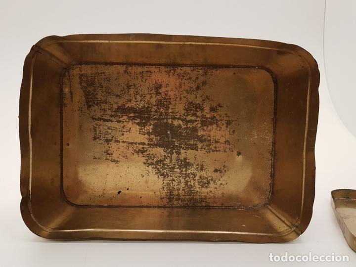 Cajas y cajitas metálicas: RARA CAJA HOJALATA DULCE MEMBRILLO LA ESFERA, BARCELONA - Foto 9 - 212390465