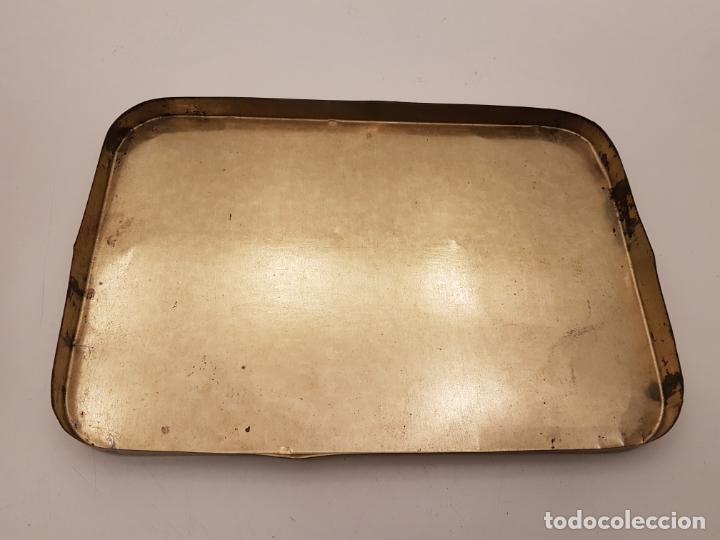 Cajas y cajitas metálicas: RARA CAJA HOJALATA DULCE MEMBRILLO LA ESFERA, BARCELONA - Foto 10 - 212390465