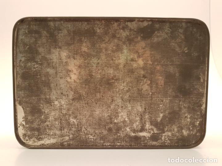 Cajas y cajitas metálicas: RARA CAJA HOJALATA DULCE MEMBRILLO LA ESFERA, BARCELONA - Foto 12 - 212390465