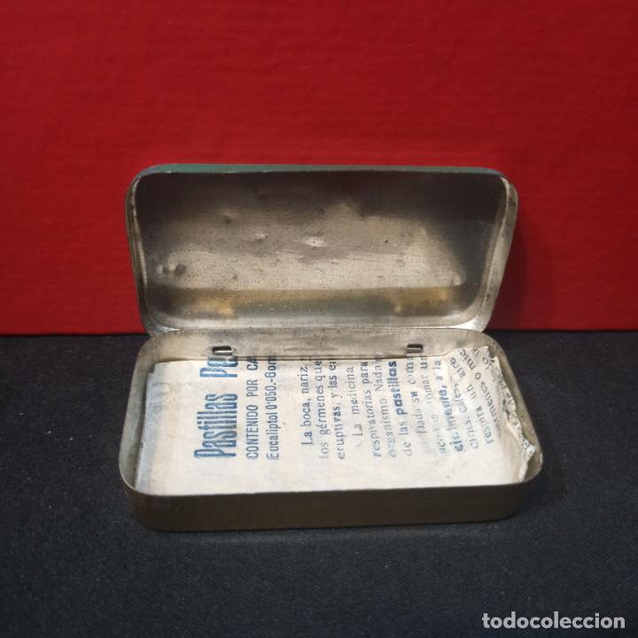 Cajas y cajitas metálicas: LOTE 3 ANTIGUAS CAJAS METALICAS - PASTILLAS PECTORALES FORMULA DEL DR.MOLINER - Foto 3 - 213572096