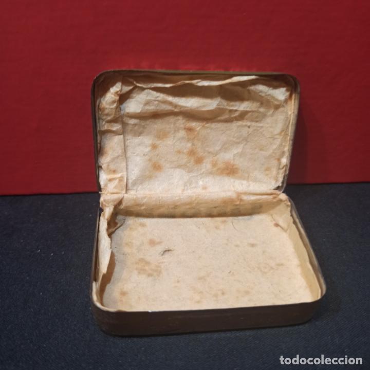 Cajas y cajitas metálicas: LOTE 3 ANTIGUAS CAJAS METALICAS - PASTILLAS PECTORALES FORMULA DEL DR.MOLINER - Foto 5 - 213572096