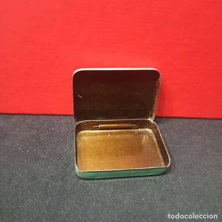 Cajas y cajitas metálicas: LOTE 3 ANTIGUAS CAJAS METALICAS - PASTILLAS PECTORALES FORMULA DEL DR.MOLINER - Foto 6 - 213572096
