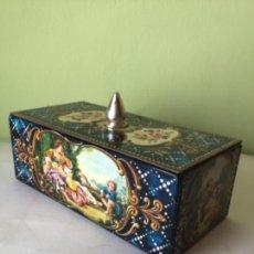 Cajas y cajitas metálicas: PRECIOSA LATA EN CHAPA LITOGRAFIADA , BUEN ESTADO. Lote 213730336