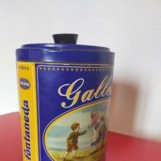 Cajas y cajitas metálicas: BOTE FONTANEDA. Lote 214070987