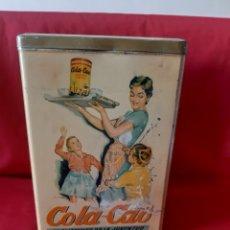 Cajas y cajitas metálicas: ANTIGUA LATA DE COLA ? CAO . CAFÉ. NUTREXPA. Lote 214495778