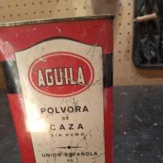 Cajas y cajitas metálicas: LATA AGUILA DE POLVORA. Lote 214565963