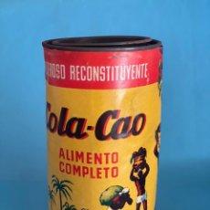 Cajas y cajitas metálicas: ANTIGUO BOTE DE COLACAO. LATA COLA CAO. NUTREXPA. 500GR. CON SELLO DE 1 PESETA. Lote 215375993
