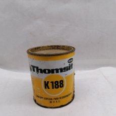 Cajas y cajitas metálicas: ADHESIVO K188. Lote 217020586