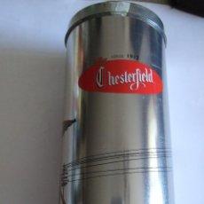 Cajas y cajitas metálicas: CAJA METALICA PARA CIGARRILLOS PUBLICIDAD CHESTERFIELD - 17X8 CM. Lote 217074017