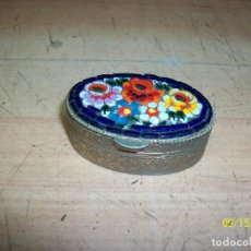 Cajas y cajitas metálicas: PASTILLERO DE METAL. Lote 217834386